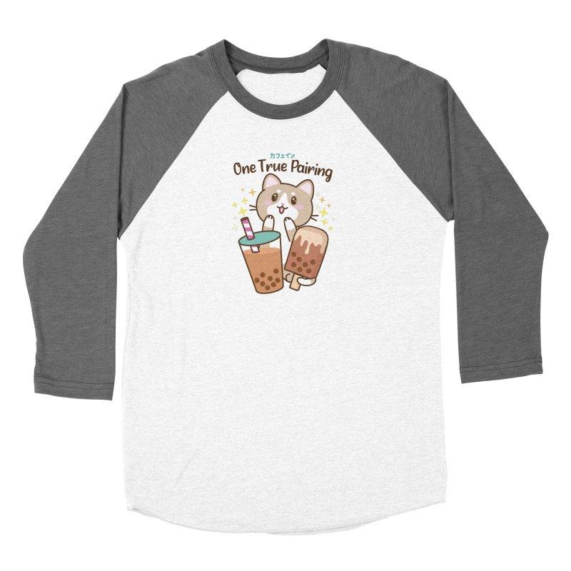Kafein - Boba Tea OTP Women's Longsleeve T-Shirt by Redbeanfiend's Artist Shop