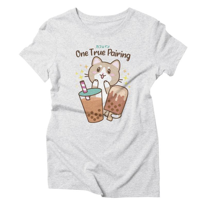 Kafein - Boba Tea OTP Women's T-Shirt by Redbeanfiend's Artist Shop