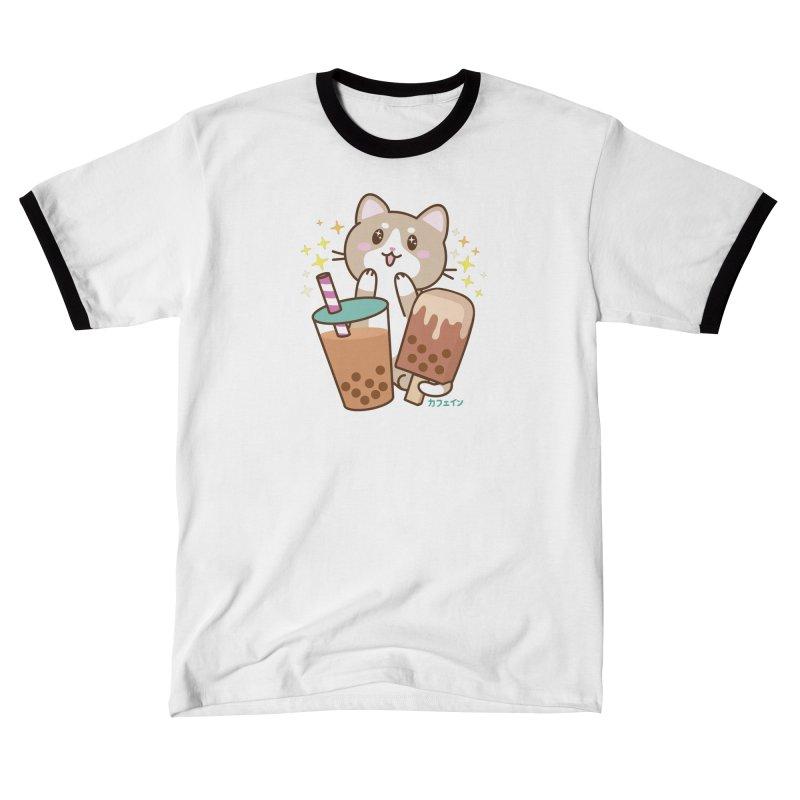 Kafein - Boba Tea OTP (Variant) Men's T-Shirt by Redbeanfiend's Artist Shop