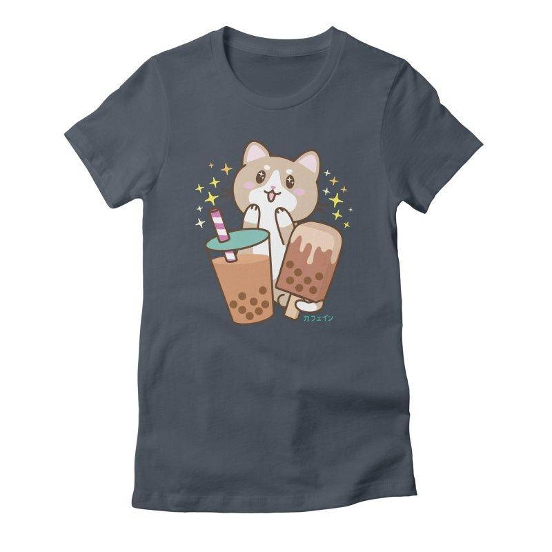 Kafein - Boba Tea OTP (Variant) Women's T-Shirt by Redbeanfiend's Artist Shop