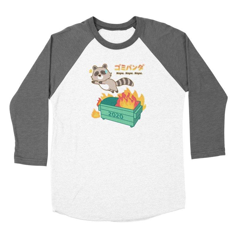 Gomi Raccoon - Dumpster Fire 2020 Women's Longsleeve T-Shirt by Redbeanfiend's Artist Shop