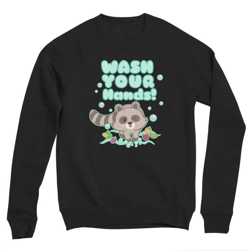 Gomi Raccoon - Wash Your Hands Women's Sweatshirt by Redbeanfiend's Artist Shop