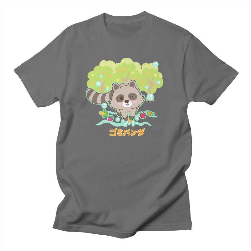 Gomi Raccoon - Wash Your Hands (Variant) Men's T-Shirt by Redbeanfiend's Artist Shop