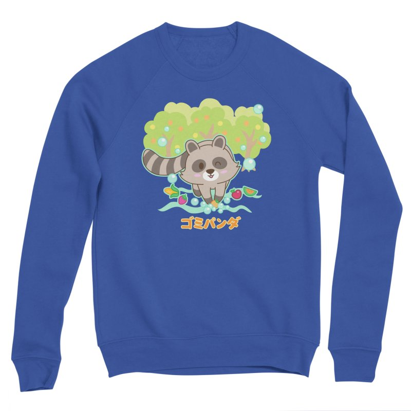 Gomi Raccoon - Wash Your Hands (Variant) Men's Sweatshirt by Redbeanfiend's Artist Shop