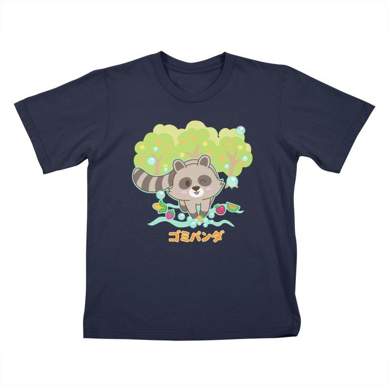 Gomi Raccoon - Wash Your Hands (Variant) Kids T-Shirt by Redbeanfiend's Artist Shop