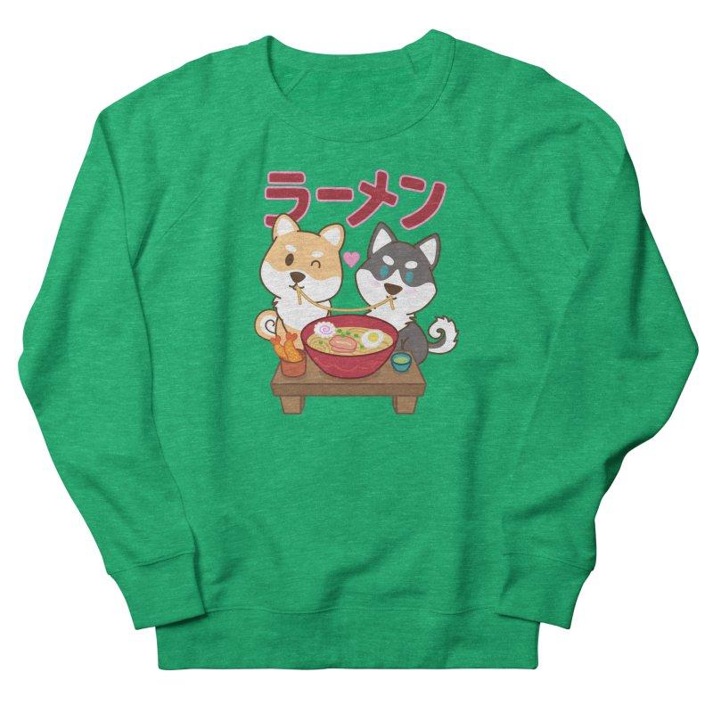 Shiba Wan Wan - Ramen Love Women's Sweatshirt by Redbeanfiend's Artist Shop