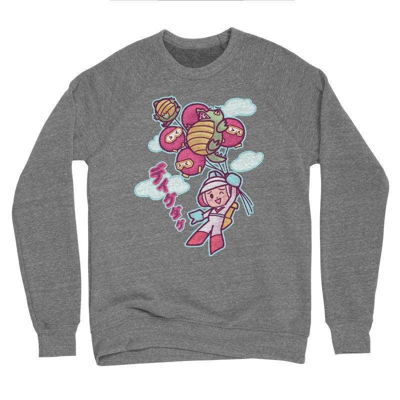 Dig Dug Up, Up and Away Men's Sweatshirt by Redbeanfiend's Artist Shop