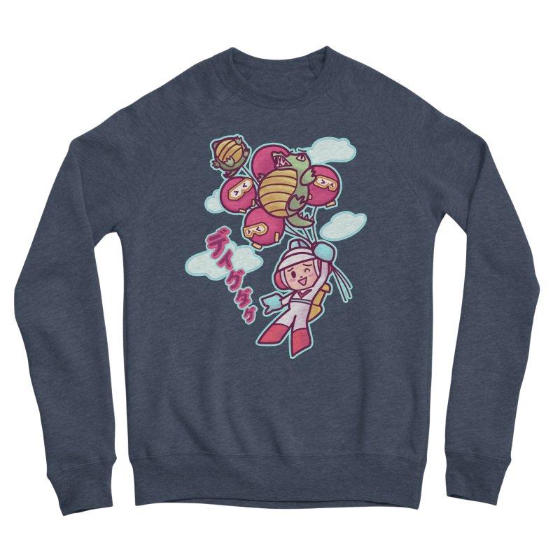 Dig Dug Up, Up and Away Women's Sweatshirt by Redbeanfiend's Artist Shop