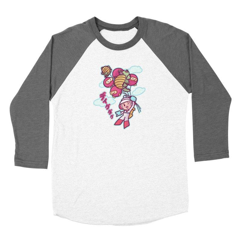 Dig Dug Up, Up and Away Women's Longsleeve T-Shirt by Redbeanfiend's Artist Shop