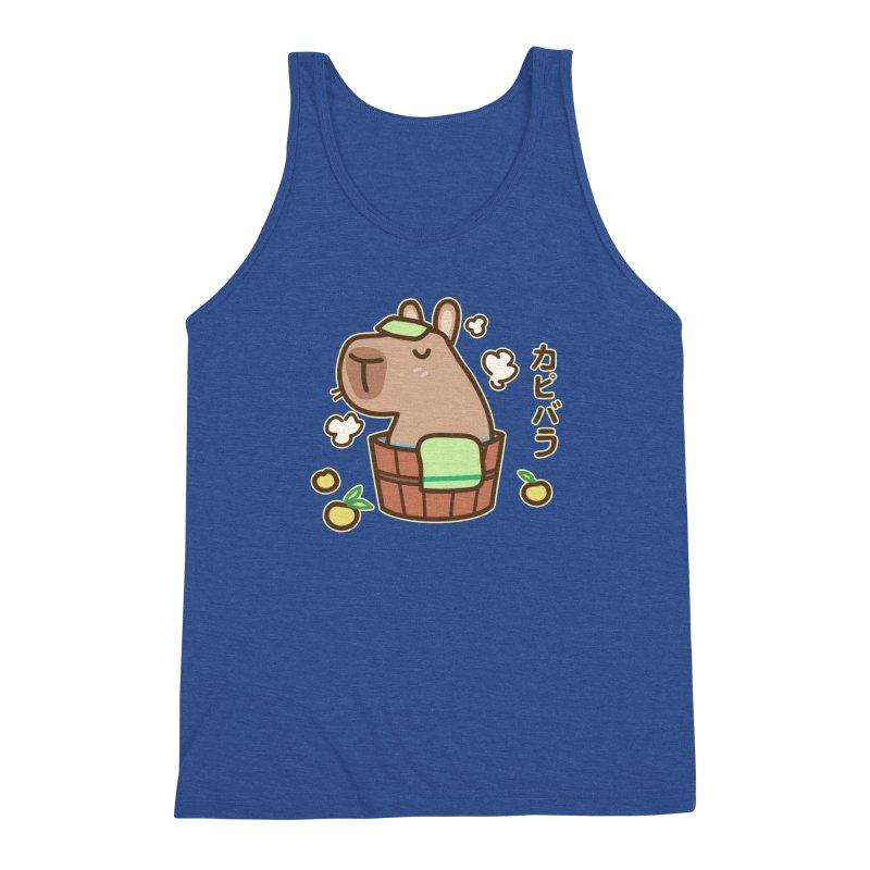 Keep Calm and Capybara (Variant) Men's Tank by Redbeanfiend's Artist Shop
