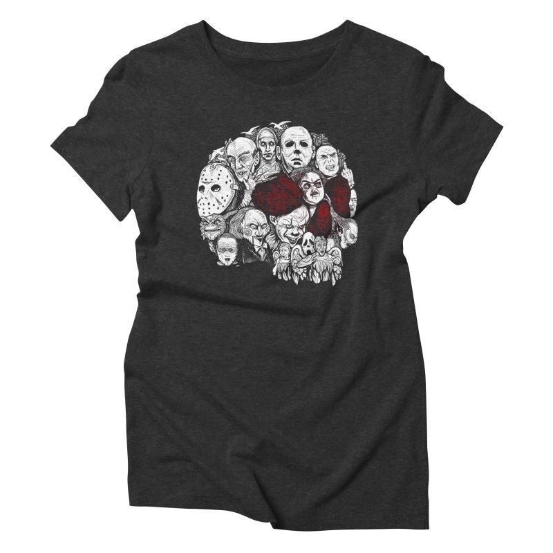 Terror Women's Triblend T-Shirt by Red Bug's Artist Shop