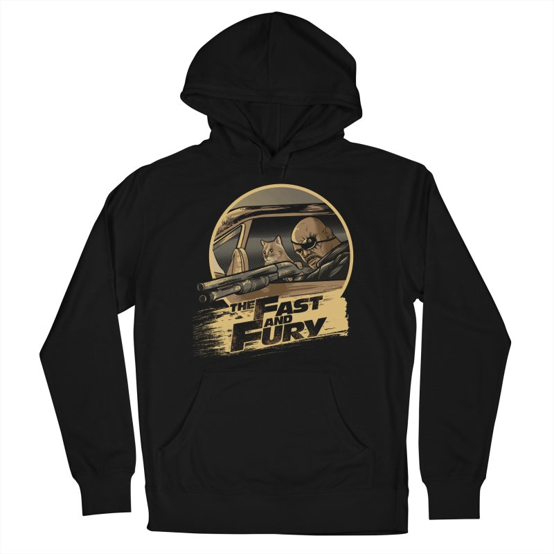 Fast and Fury Men's French Terry Pullover Hoody by Red Bug's Artist Shop