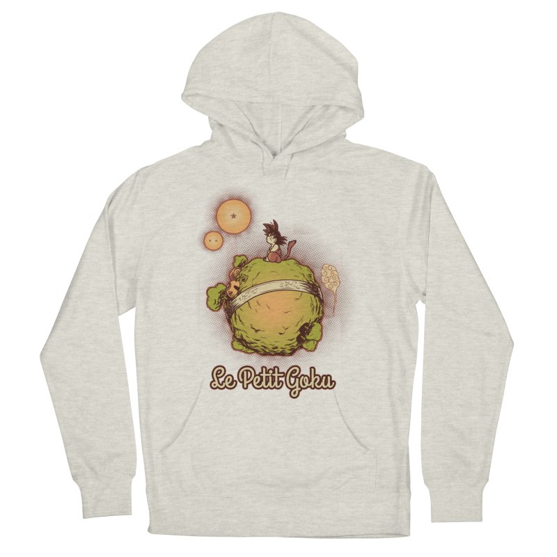 Le petit goku Men's French Terry Pullover Hoody by Red Bug's Artist Shop