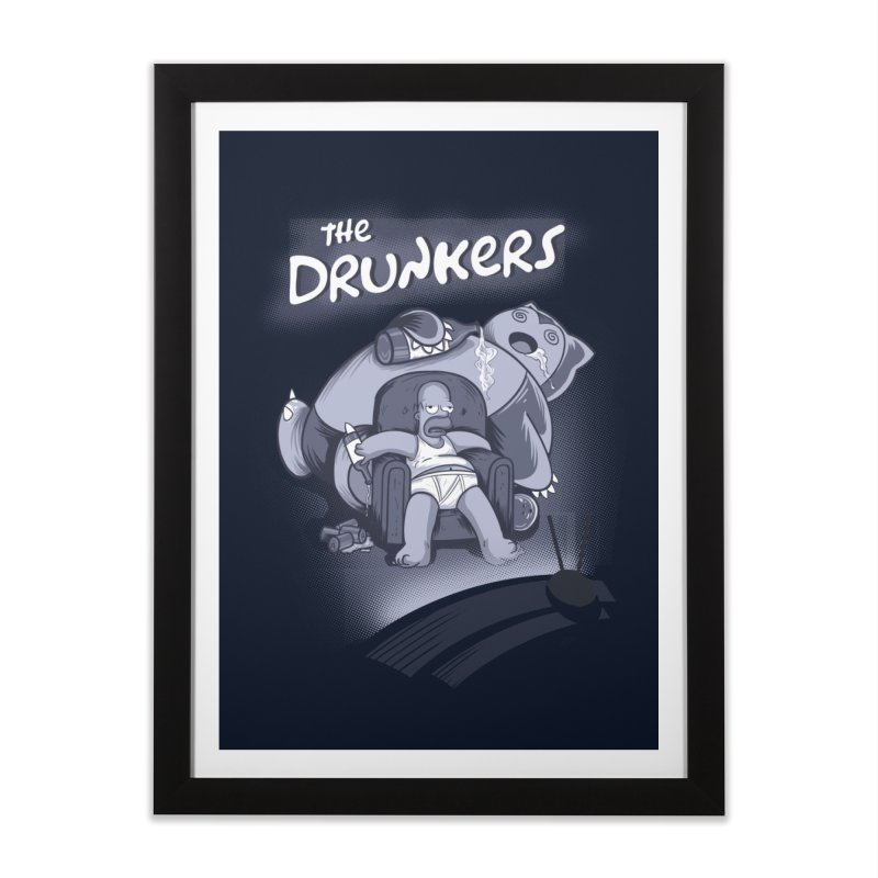 The Drunkers Home Framed Fine Art Print by Red Bug's Artist Shop