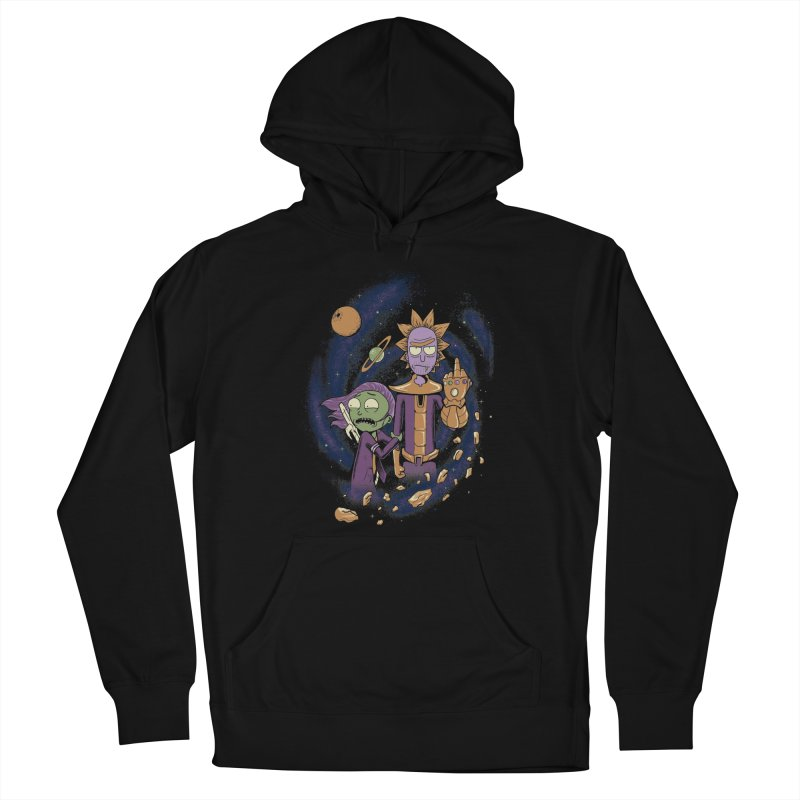 Titan Rick Men's French Terry Pullover Hoody by Red Bug's Artist Shop
