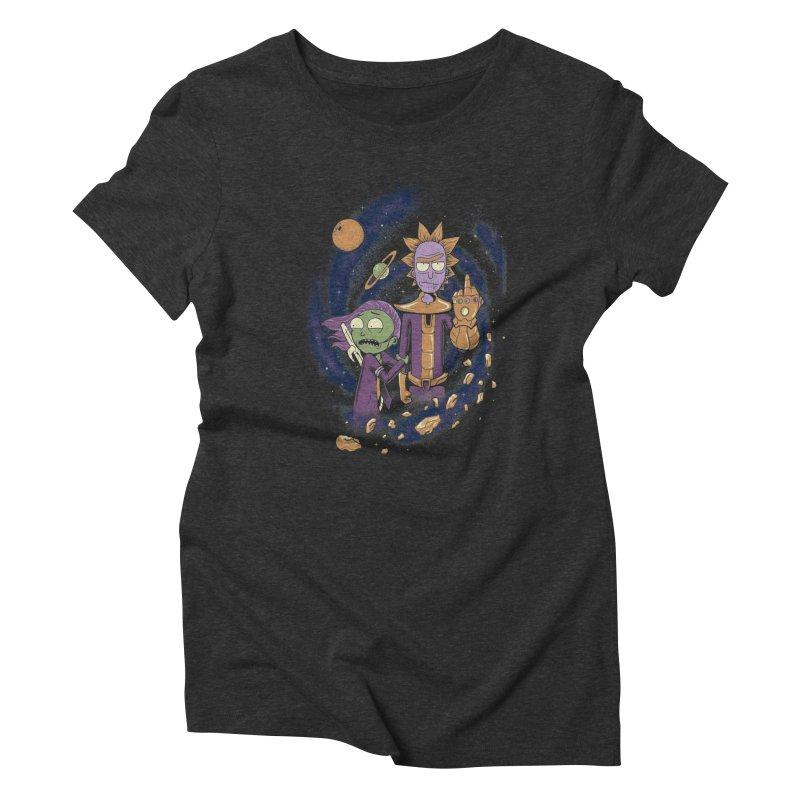 Titan Rick Women's Triblend T-Shirt by Red Bug's Artist Shop