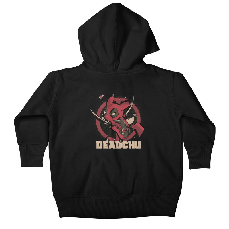 Deadchu Kids Baby Zip-Up Hoody by Red Bug's Artist Shop