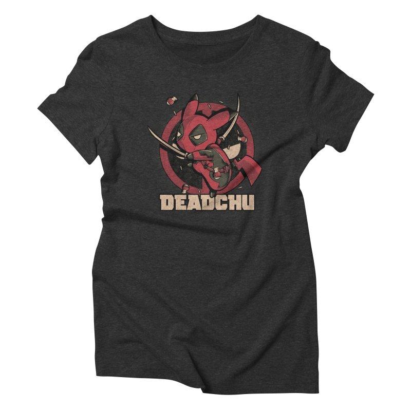 Deadchu Women's Triblend T-Shirt by Red Bug's Artist Shop