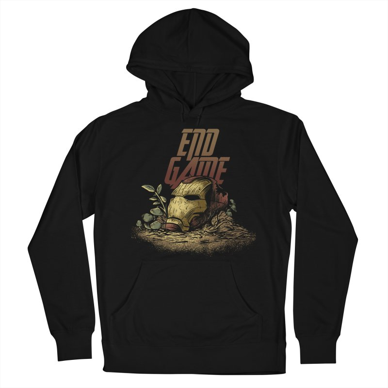 Endgame Men's French Terry Pullover Hoody by Red Bug's Artist Shop