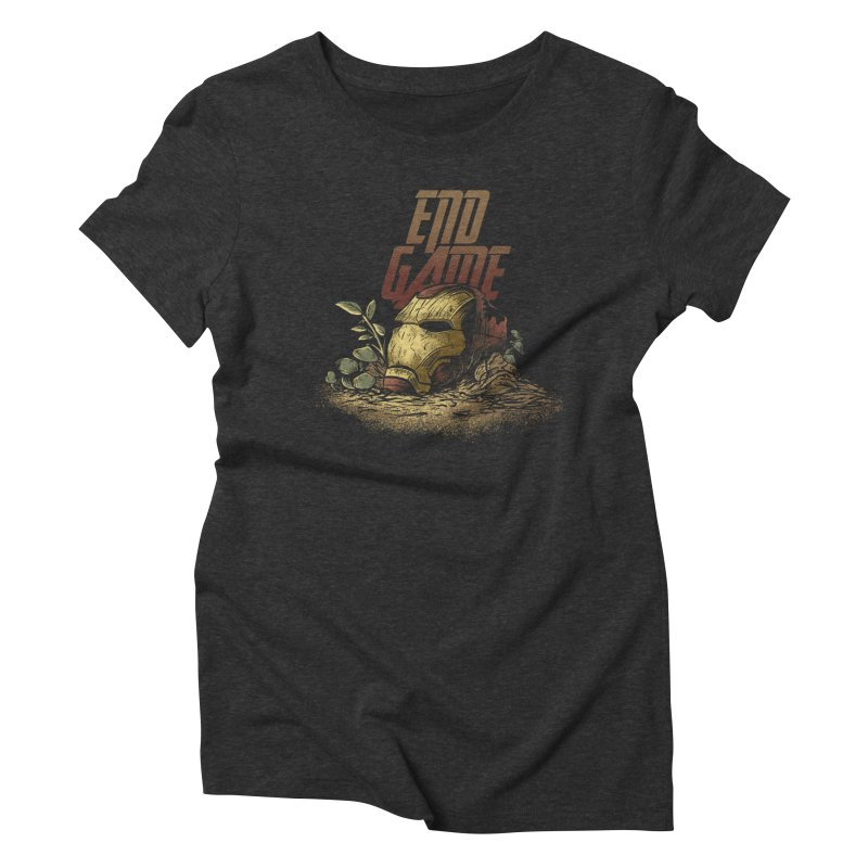 Endgame Women's Triblend T-Shirt by Red Bug's Artist Shop