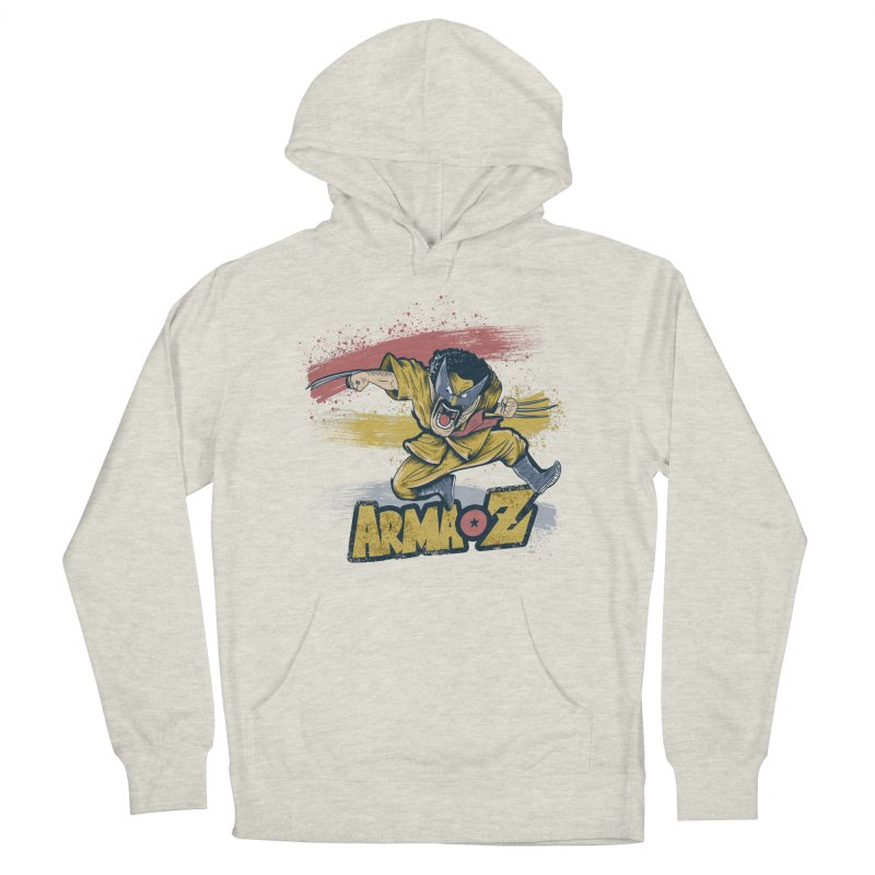 Arma Z Men's French Terry Pullover Hoody by Red Bug's Artist Shop