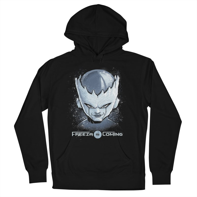 Freeza is Coming Men's French Terry Pullover Hoody by Red Bug's Artist Shop
