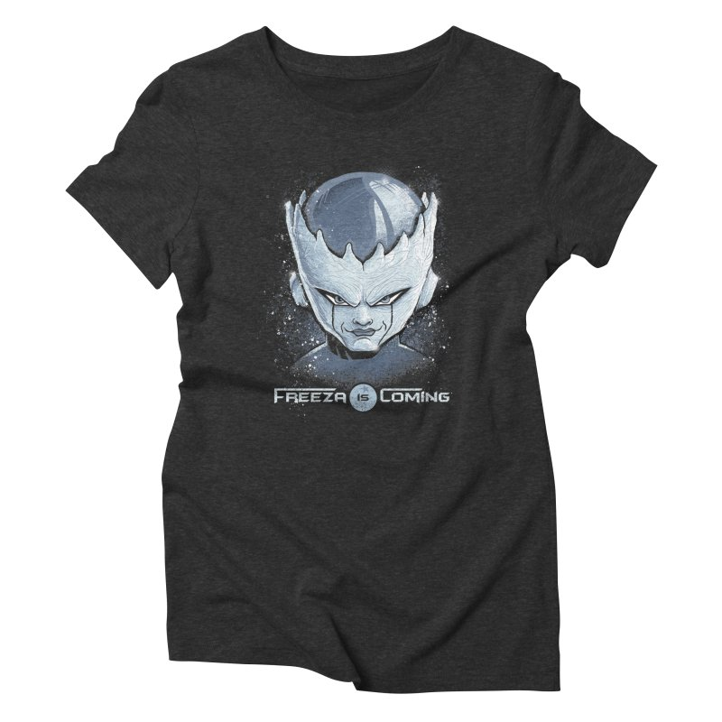 Freeza is Coming Women's Triblend T-Shirt by Red Bug's Artist Shop