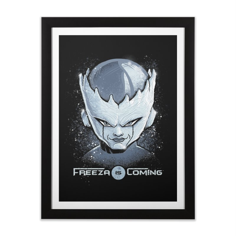 Freeza is Coming Home Framed Fine Art Print by Red Bug's Artist Shop