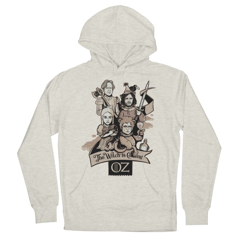 Game of Oz Men's French Terry Pullover Hoody by Red Bug's Artist Shop