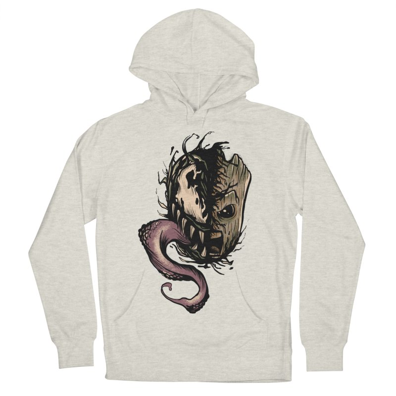 Groot simbiótico Men's French Terry Pullover Hoody by Red Bug's Artist Shop