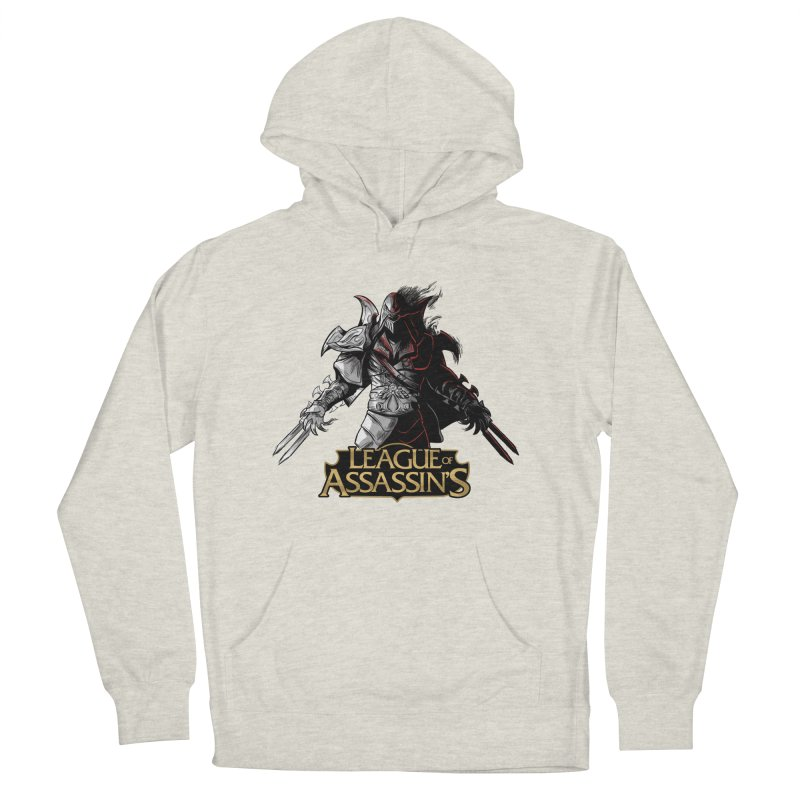 League of Assassin's Men's French Terry Pullover Hoody by Red Bug's Artist Shop