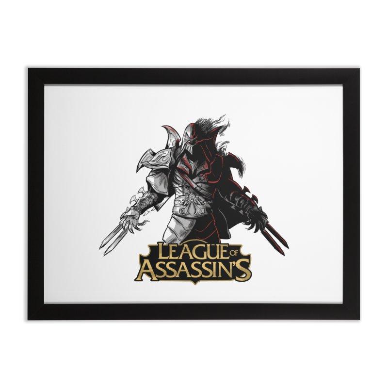 League of Assassin's Home Framed Fine Art Print by Red Bug's Artist Shop
