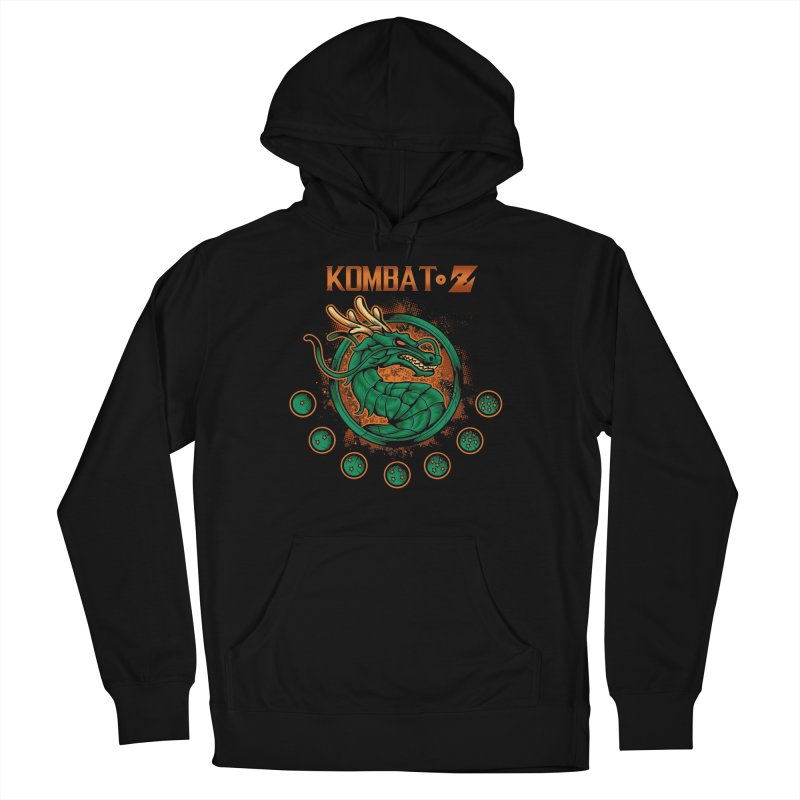 Kombat Z Men's French Terry Pullover Hoody by Red Bug's Artist Shop