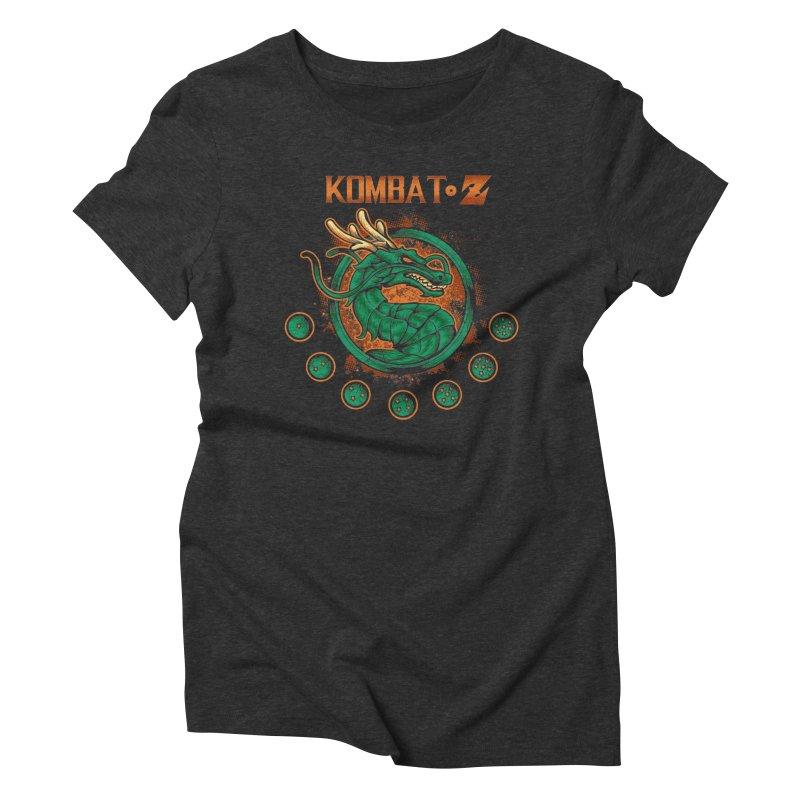 Kombat Z Women's Triblend T-Shirt by Red Bug's Artist Shop