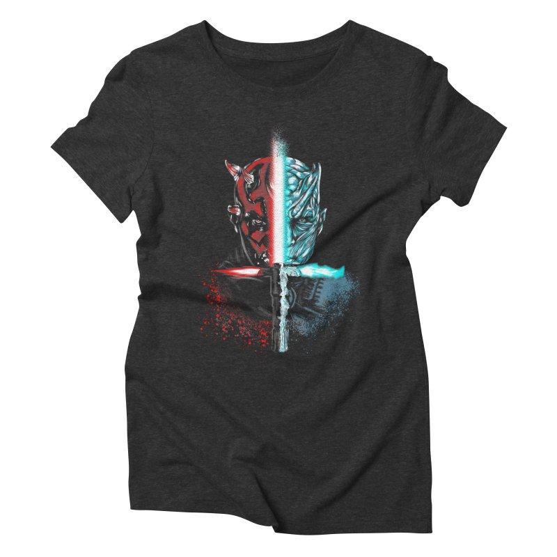 Dark Winter Women's Triblend T-Shirt by Red Bug's Artist Shop