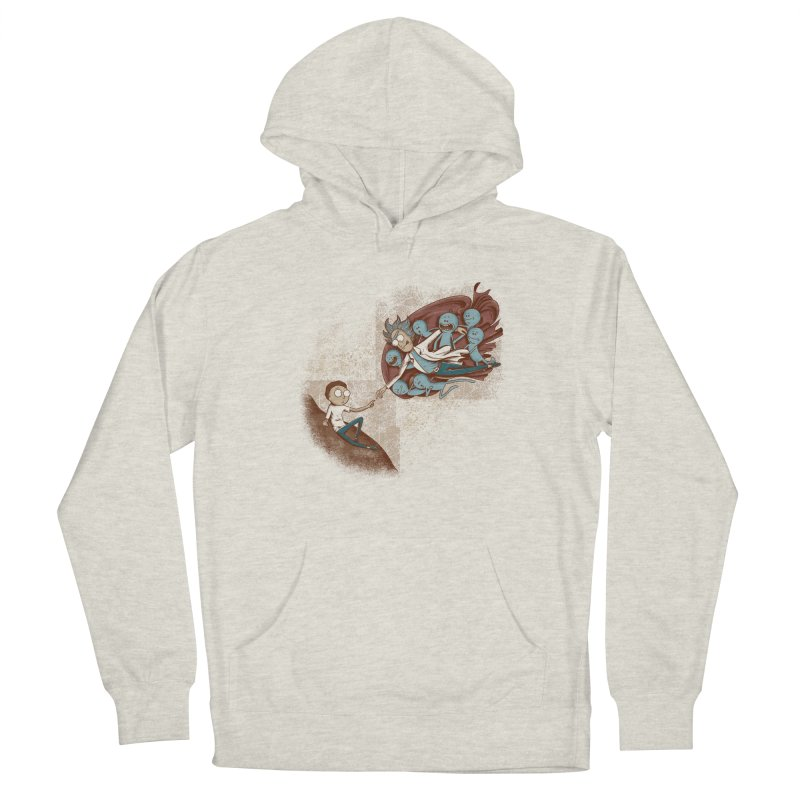 Criação de Morty Men's Pullover Hoody by Red Bug's Artist Shop