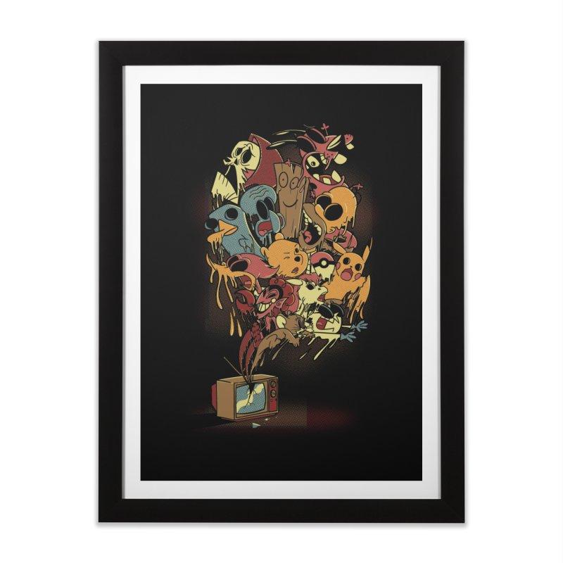 Nostalgia Home Framed Fine Art Print by Red Bug's Artist Shop