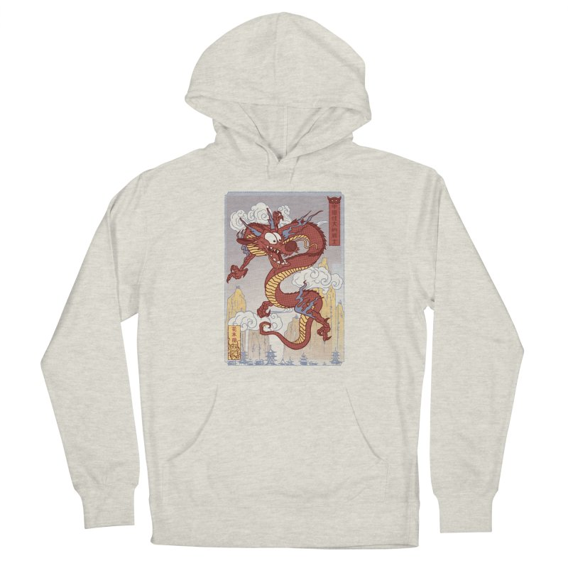 Mushu Men's Pullover Hoody by Red Bug's Artist Shop
