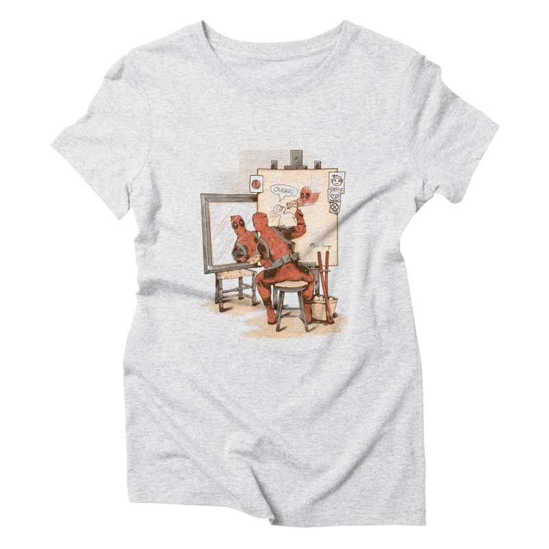 Autorretrato Wade Women's Triblend T-Shirt by Red Bug's Artist Shop