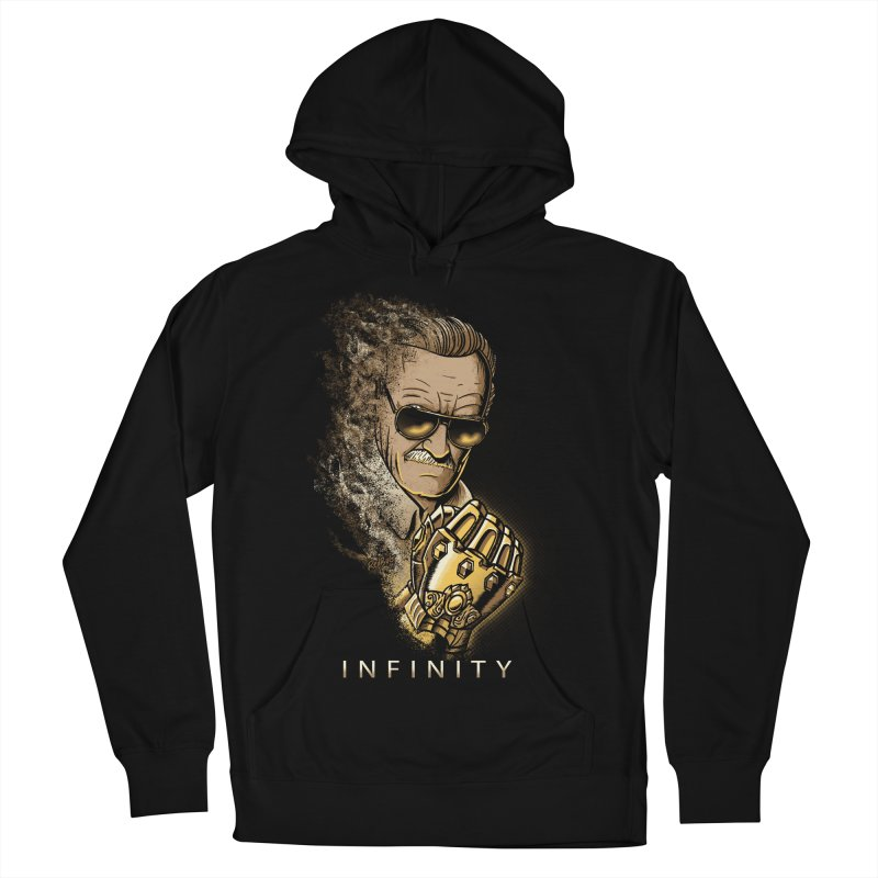 Infinity Men's French Terry Pullover Hoody by Red Bug's Artist Shop