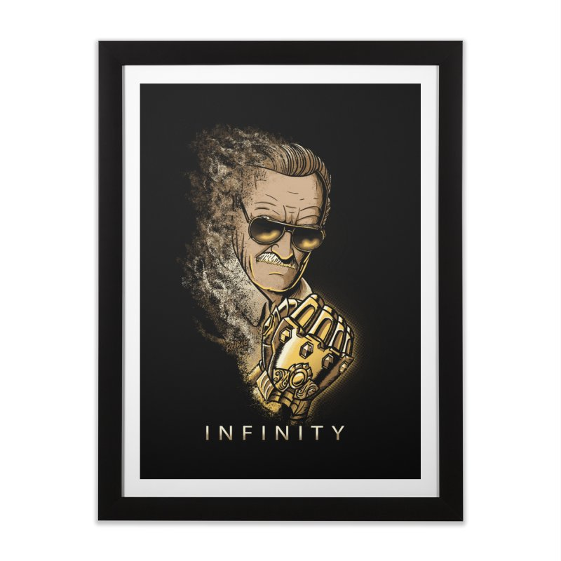 Infinity Home Framed Fine Art Print by Red Bug's Artist Shop