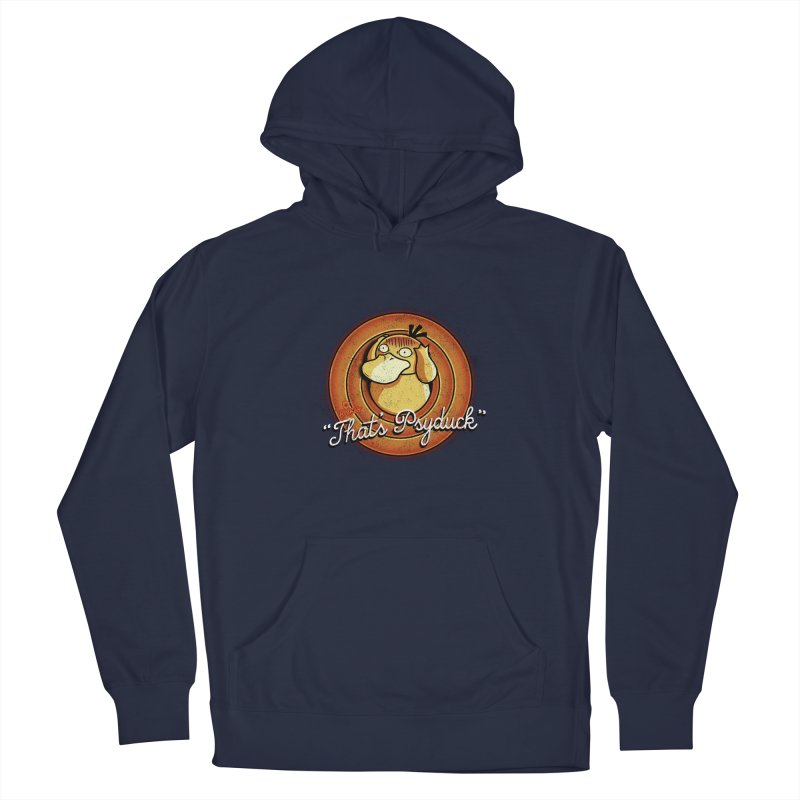 That's Psyduck Men's Pullover Hoody by Red Bug's Artist Shop