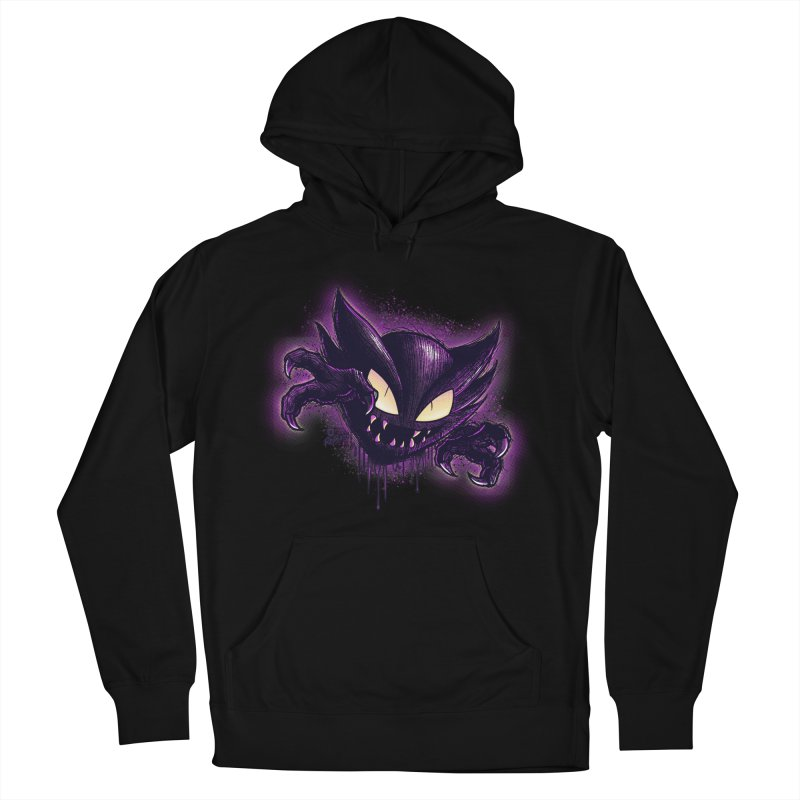 Haunter Men's French Terry Pullover Hoody by Red Bug's Artist Shop