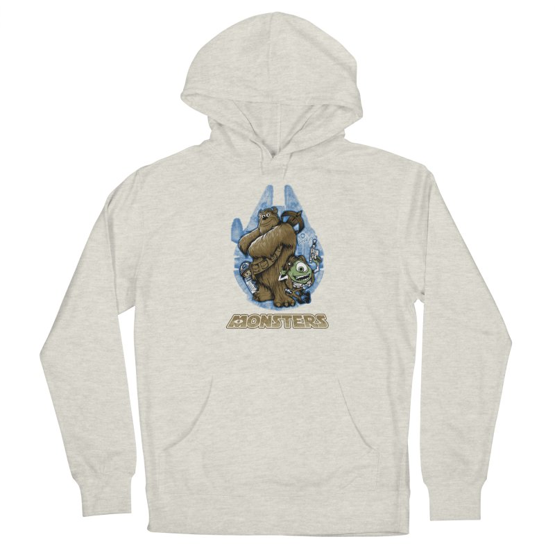 Monsters Men's French Terry Pullover Hoody by Red Bug's Artist Shop