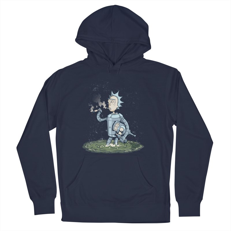 Rick Bender Men's French Terry Pullover Hoody by Red Bug's Artist Shop