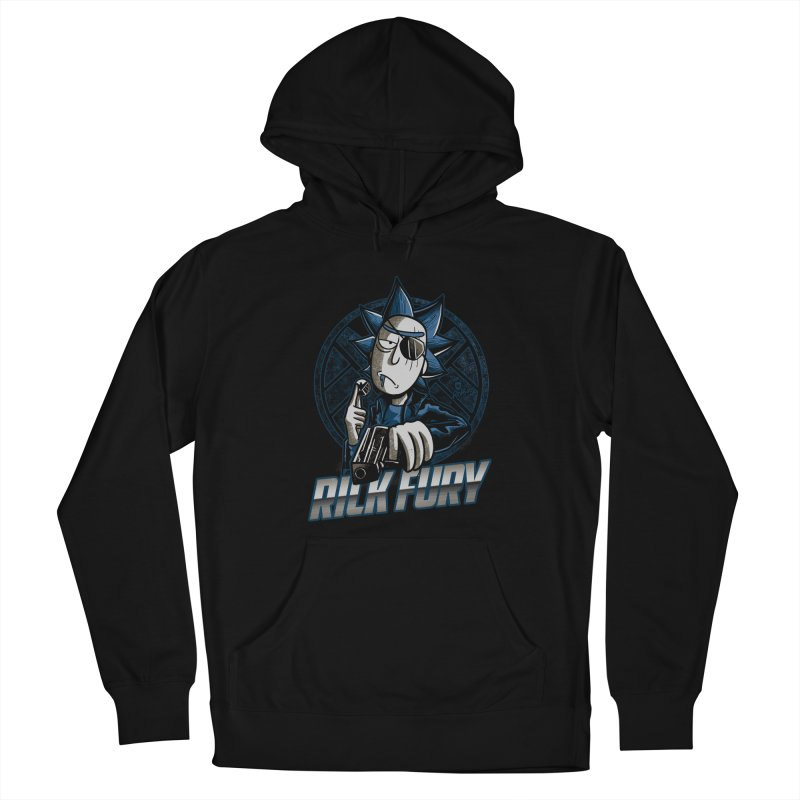 Rick Fury Men's Pullover Hoody by Red Bug's Artist Shop