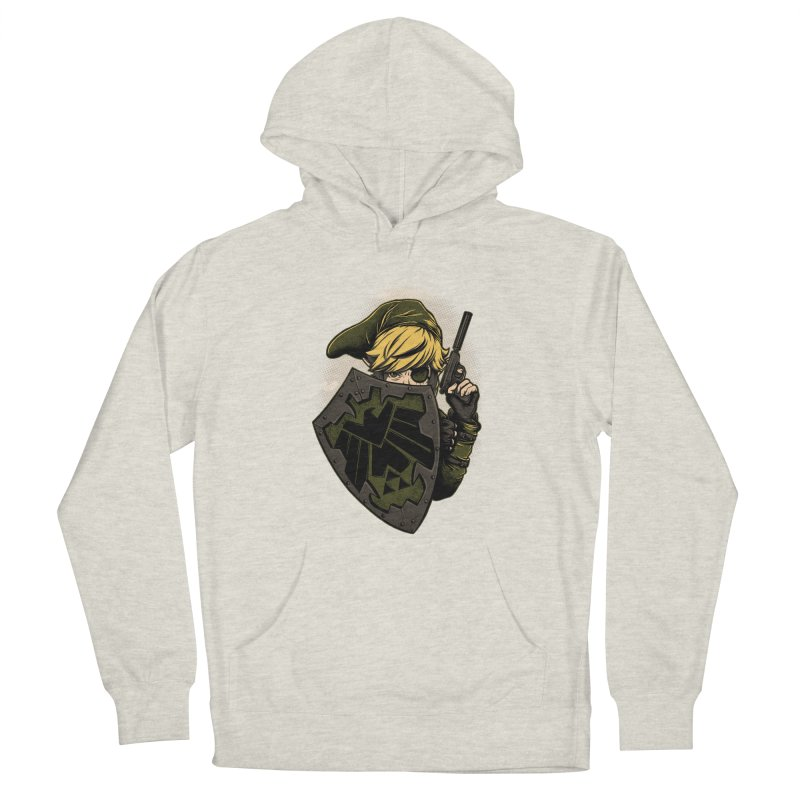 Z.E.L.D.A Men's French Terry Pullover Hoody by Red Bug's Artist Shop