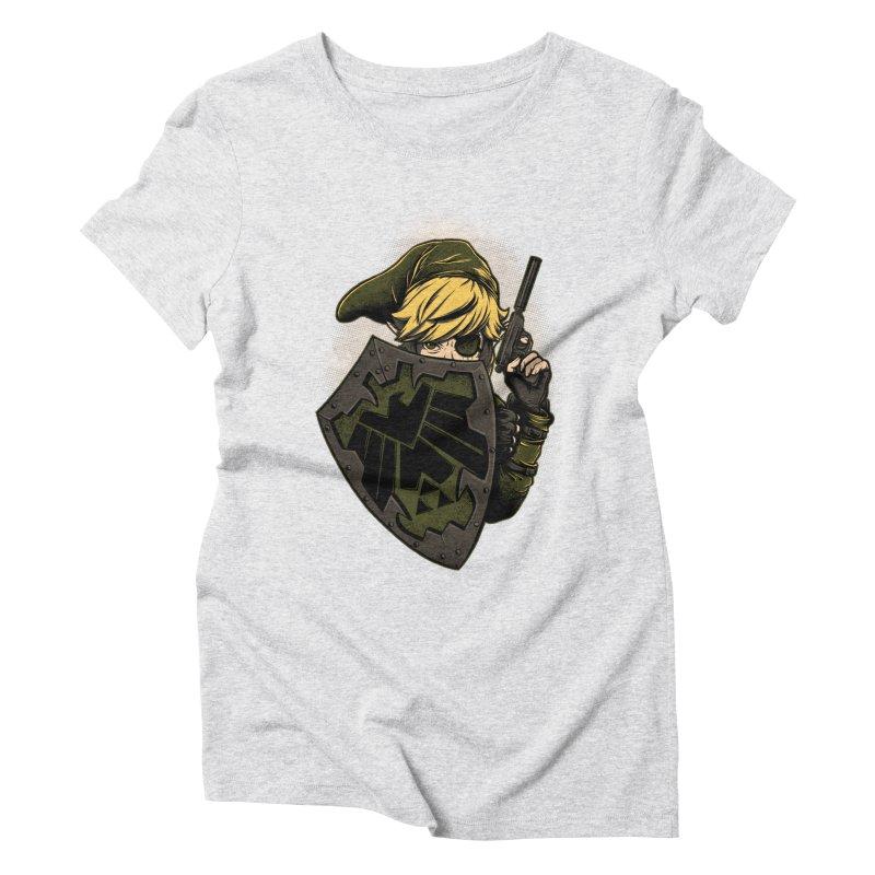 Z.E.L.D.A Women's Triblend T-Shirt by Red Bug's Artist Shop