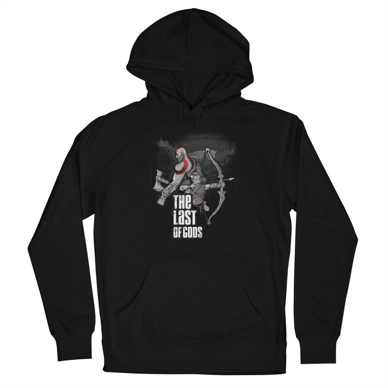 The Last of Gods Men's French Terry Pullover Hoody by Red Bug's Artist Shop