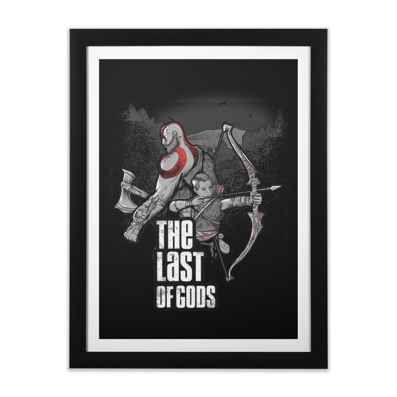 The Last of Gods Home Framed Fine Art Print by Red Bug's Artist Shop